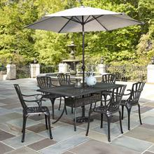 See Details - Largo 7PC Dining Set with Umbrella
