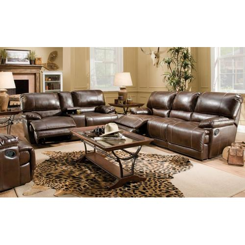 Red River Bonded Leather Recline Sofa