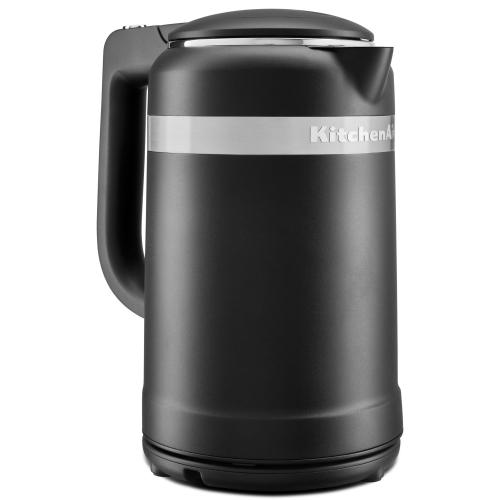 Gallery - 1.5 Liter Electric Kettle with dual-wall insulation - Black Matte