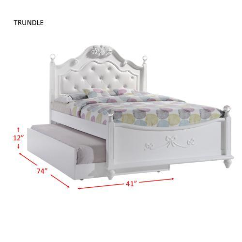 Elements - Alana Full Platform Bed w/ Storage Trundle