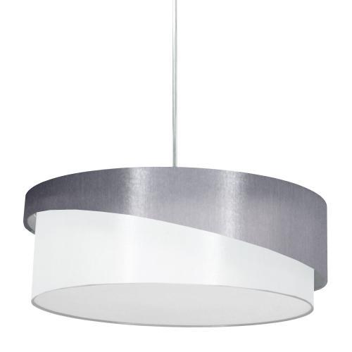 3lt Jazlynn Pendant, Grey/white Shade W/ 790 Diff
