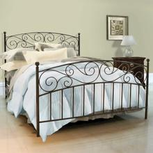 See Details - B544 No Tools Assembly Serta Metal Bed in Dark Bronze Finish