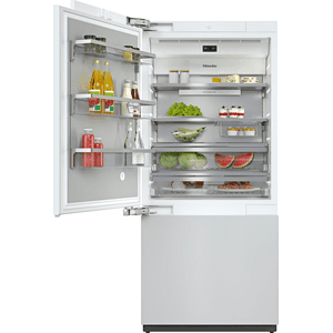KF 2912 Vi - MasterCool™ fridge-freezer with high-quality features and maximum storage space for exacting demands. Product Image