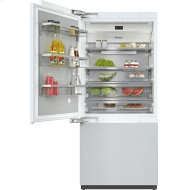 KF 2912 Vi - MasterCool™ fridge-freezer For high-end design and technology on a large scale.