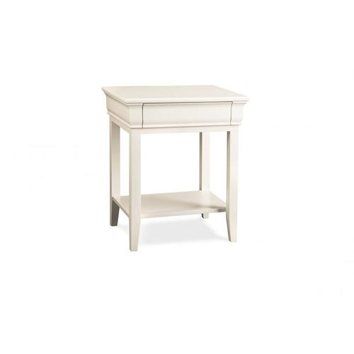 - Monticello 1 Drawer Open Night Stand