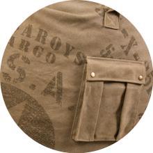 Full Cover - Khaki Cargo