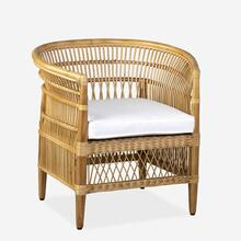 Maia Rattan Occasional Chair, Natural
