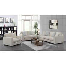 Waverly Cream Sofa, Loveseat & Chair, U4612