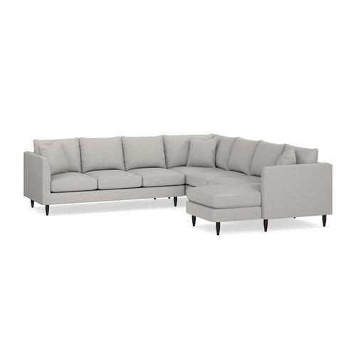 Bassett Furniture - Ariana 5 Piece U-Shaped Sectional