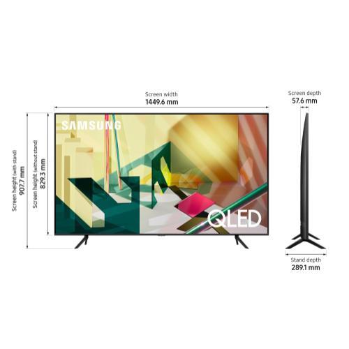 "Samsung Canada - 65"" 2020 Q70T 4K Smart QLED TV"