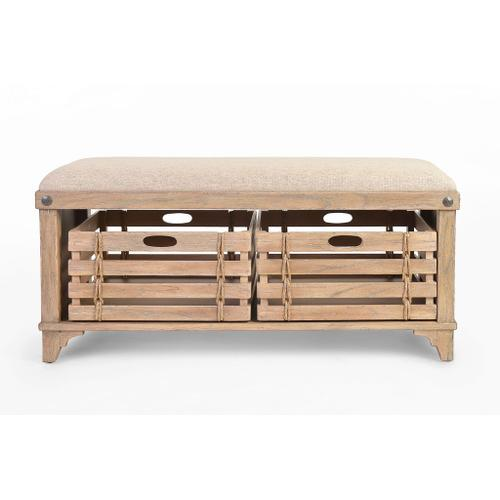Gallery - Artisan Landing Storage Bench