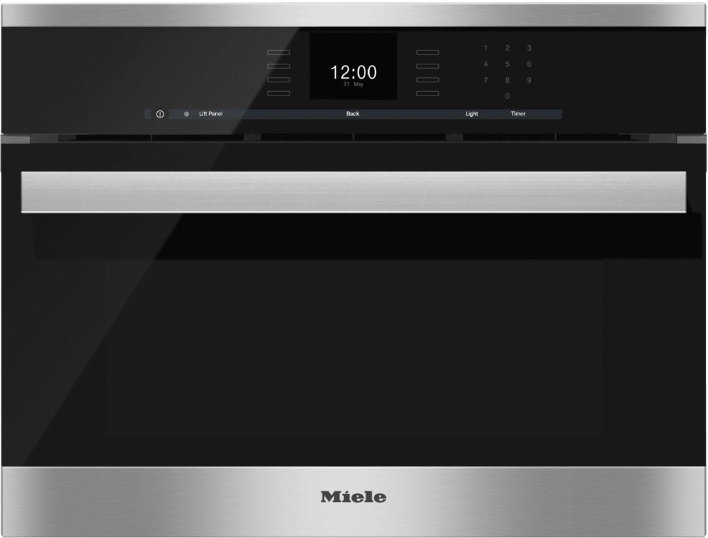 MieleDgc 6600-1 - Steam Oven With Full-Fledged Oven Function And Xl Cavity Combines Two Cooking Techniques - Steam And Convection.