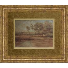 """Woodland Solitude"" By Veronica Faust Framed Print Wall Art"
