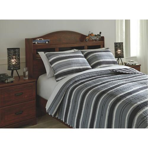 Merlin 3-piece Full Coverlet Set