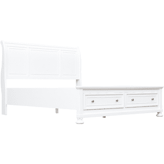Willow Ridge White Bed, Queen