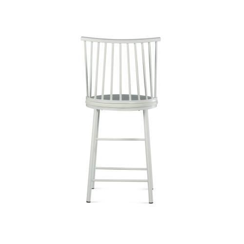 Frida Counter Chair - White