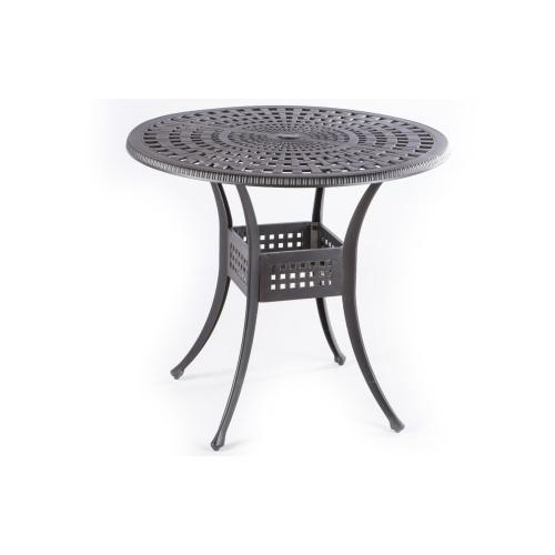 """Cobblestone 42"""" Round Gathering Table w/Umb hole"""