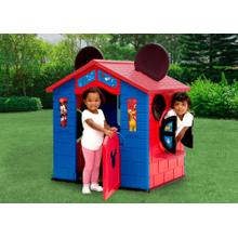 Mickey Mouse Plastic Indoor/Outdoor Playhouse with Easy Assembly - Mickey Hot Dog (1054)