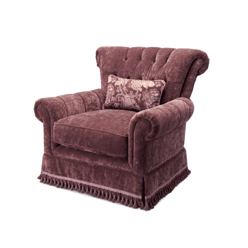 Tufted Club Chair - Grp2/Opt1