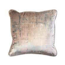 See Details - Decorative Throw Pillow with a Pastel Abstract Print