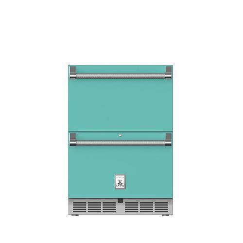"Hestan - 24"" Hestan Undercounter Refrigerator Drawers - GRR Series - Bora-bora"