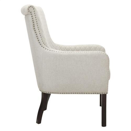 Quilted Accent Chair