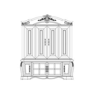 Entertainment Unit w/Doors (2 pc)