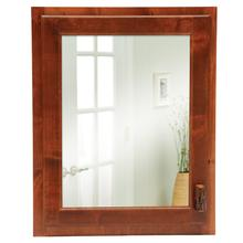 Inset Medicine Cabinet - Natural Hickory - Hinge Right