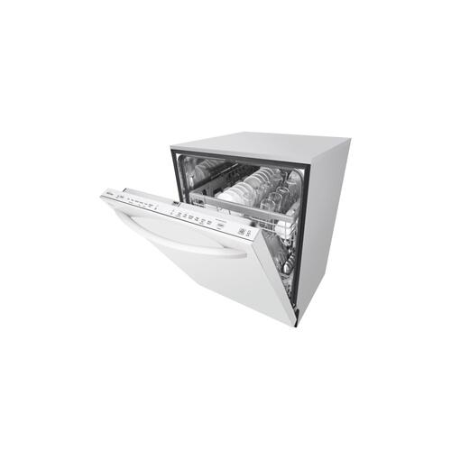 LG - Top Control Smart wi-fi Enabled Dishwasher with QuadWash