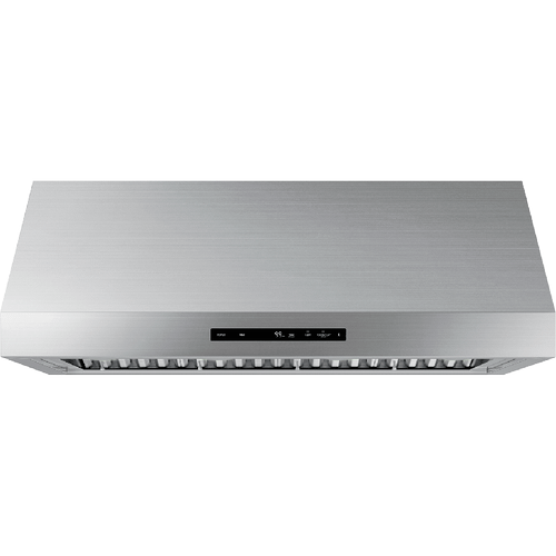 """48"""" Wall Hood, Silver Stainless Steel"""