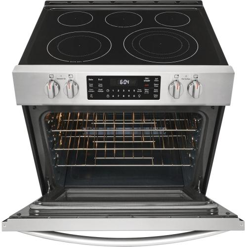 Scratch & Dent  Frigidaire Gallery 30'' Front Control Electric Range with Air Fry