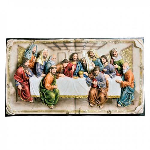 Furniture of America - Small-size Homili Last Supper Plaque