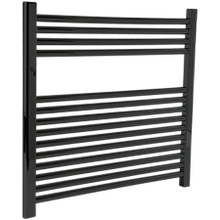 "Denby Towel Warmer 27"" x 30"" Hydronic Black"