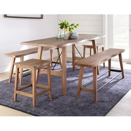 Tahoe 3-Piece Counter Dining (Counter Table & 2 Counter Benches)