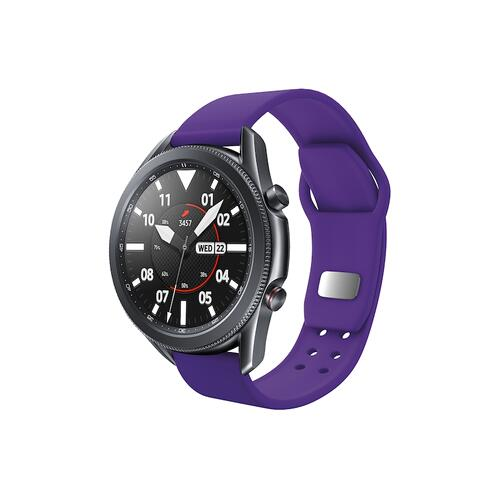 Quick Change Silicone Sport Watch Band (20mm) Purple