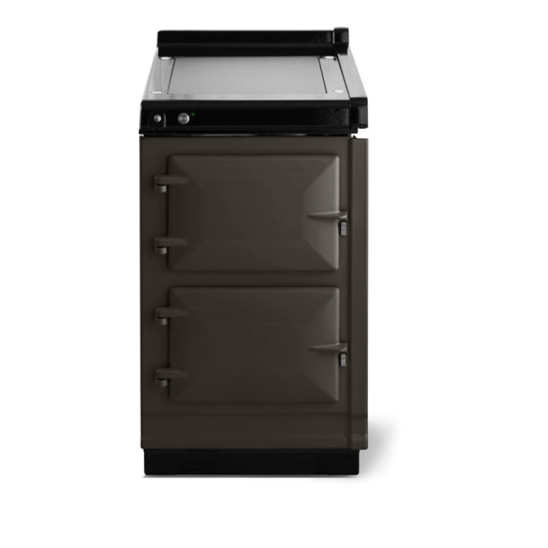"""AGA Classic 20"""" Hotcupboard with Warming Plate, Pewter"""