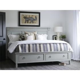 Storage King Bed