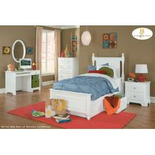 Twin bed inc Toy Box ( 3pc / box )