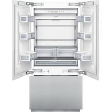 See Details - 36 inch Custom Panel Built-In French Door Bottom-Freezer T36IT800NP
