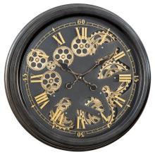 See Details - Paris Gear Clock