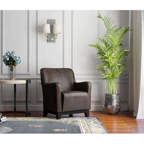 Amanda Accent Chair Brown