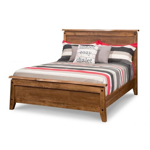 Handstone - Pemberton Queen Bed with 22'' Low Footboard