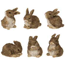 Bunny Figurines - Lg. (was EA1501) (24 pc. ppk.)