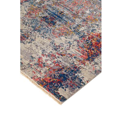 Feizy - DALIA LUXE 6383F IN GRAY-MULTI