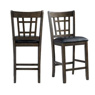 See Details - Max Distressed Side Chair Set