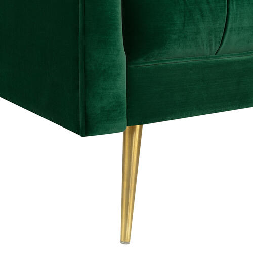 Gallery - Bryan Accent Chair w/ Gold Legs