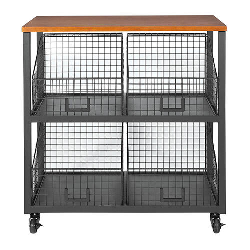 Hanover 4/drawer Storage Console