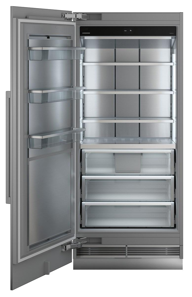 Freezer for integrated use with NoFrost