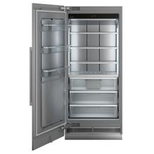 "36"" Freezer for integrated use with NoFrost"