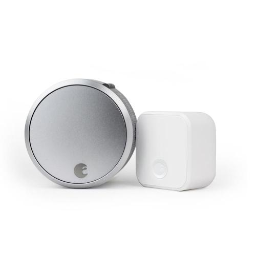 August - August Smart Lock Pro + Connect - Silver